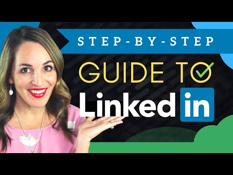 How To Get STARTED On LinkedIn In 2020 - (Step-By-Step For BEGINNERS)