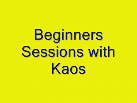 Beginners Sessions