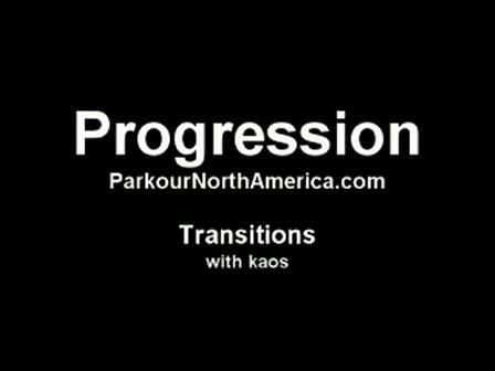 Progression Episode 8 - Transitions