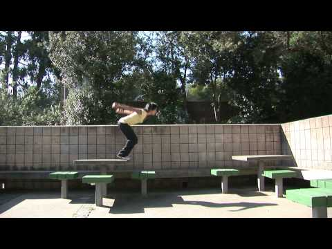 Parkour outdoor training