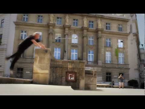 45 years - 5 years of parkour - training & fun