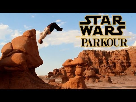 Star Wars Parkour - Jedi Free Running