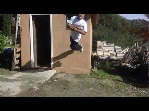BACKFLIP 360 OFF WALL