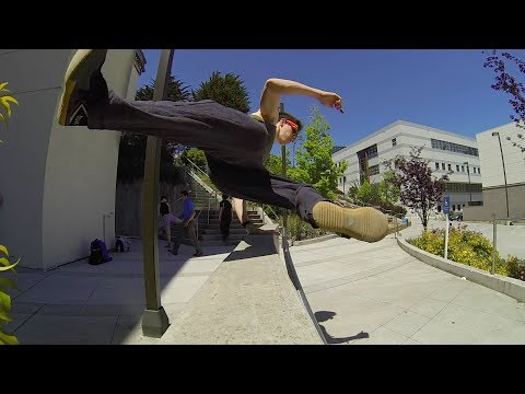 BA Parkour Training May 2014