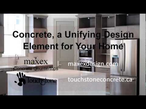 Concrete, a Unifying Design Element for Your Home