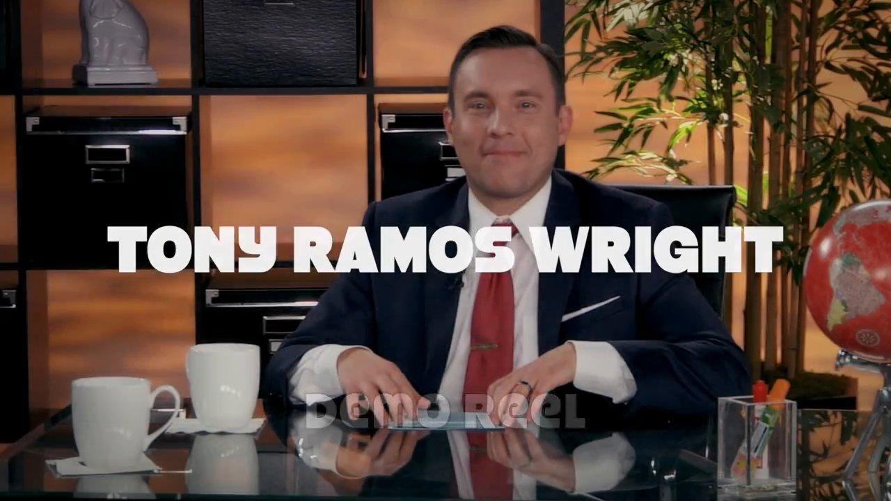 TONY RAMOS WRIGHT Film/TV Demo (2015)