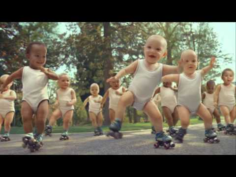 Roller Babies international version - A Christmas delight!