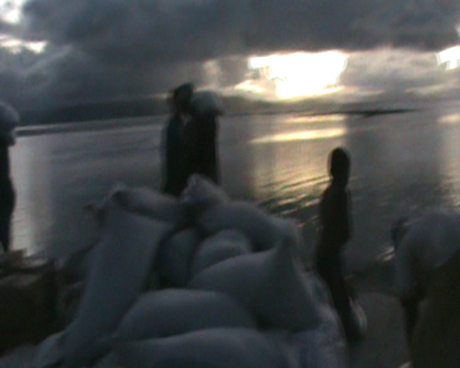 Still landing more Fiji govt food aid on Rabi Wed night