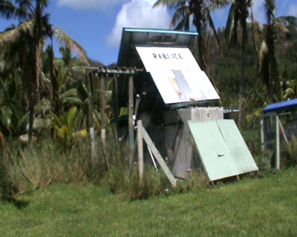 Rabi Ice plant at Nuku destroyed by Cyclone Tomas