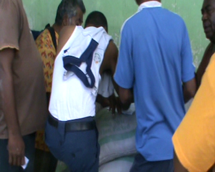 Fiji police helping organise Fiji govt aid distribution Rabi