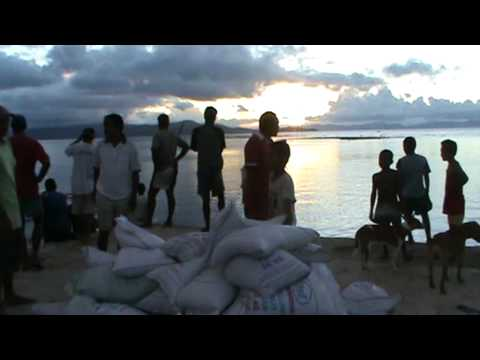 Fiji government Aid arriving Rabi, Fiji