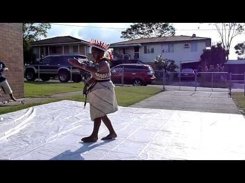 Dancing at Banaba-Australia Association