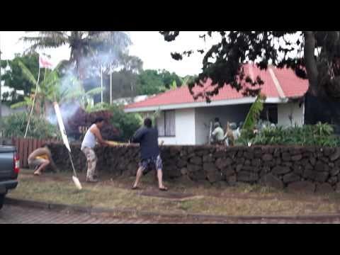 Video of Violence on Rapa Nui Landowners by Chilean troops