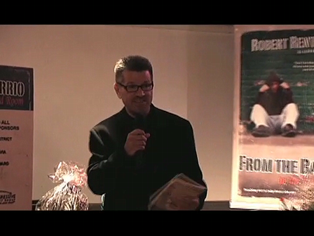 Me saying a few words at the Spanish Release Party