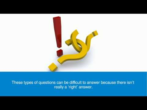 William Almonte - How to Answer Tough Interview Questions