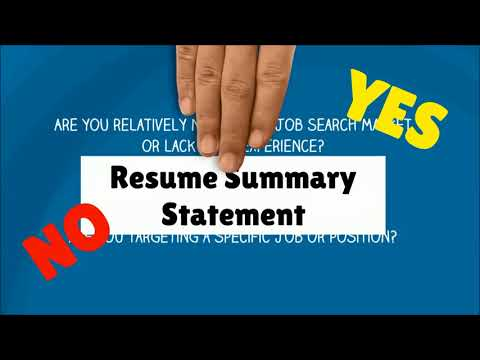 William Almonte -  How to Write a Resume/CV in 3 steps