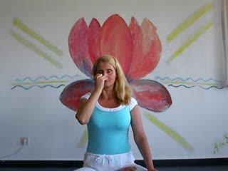 Anuloma Viloma - Yoga breathing exercice (Pranayama)