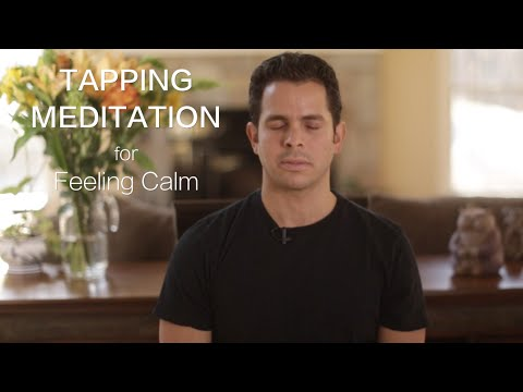 From Overwhelm To Calm - 2016 Tapping World Summit - Tapping Meditation - Overwhelm To Calm