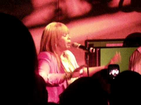 Faith Evans at Club Tempo in Char. NC 10/10/2010