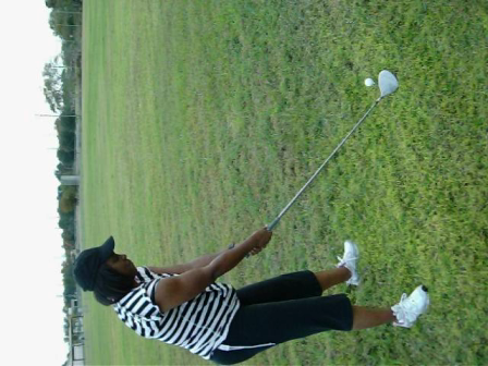 Queen T My Golf Student in Orlando