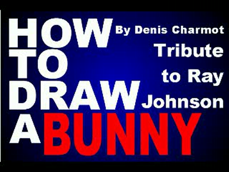 How to draw a bunny by Denis Charmot