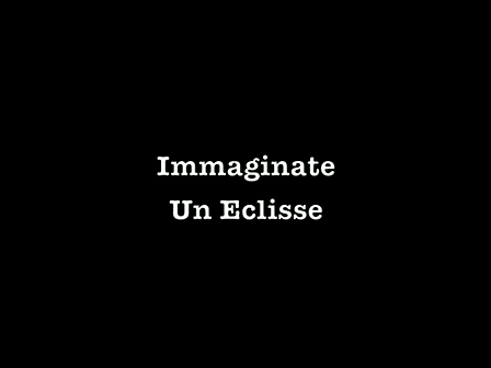 Immaginate Un Eclisse