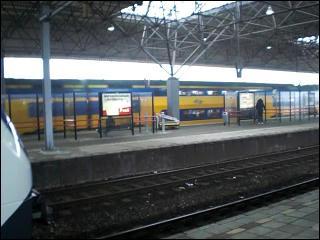 Trains at Railway Station Breda