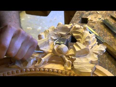 Making an oval mirror sconce