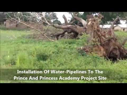 The Prince And Princess Academy Project Installation Of Water Pipelines