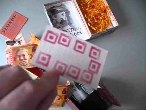 Fluxus Wallet from David Stafford to Ruud Janssen