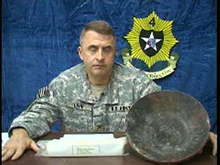 73d Colonel of the Regiment Colonel Jon Lehr