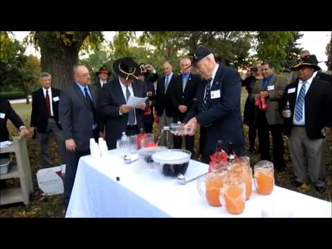 2nd Cav Punch Ceremony 2013