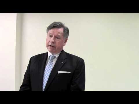 """Senator Kemp Hannon presents """"Long Term Care Insurance"""" with Ray Donnelly"""