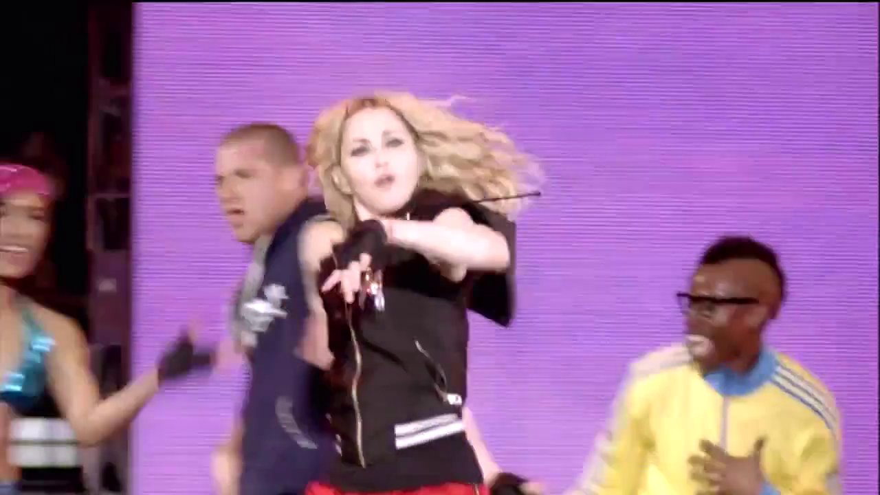 Madonna - Into The Groove Sticky   Sweet Tour