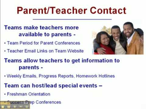 9th Grade Opportunity - Part 8 - Parent/Teacher Contact