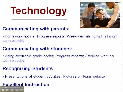 9th Grade Opportunity - Part 9 - Technology