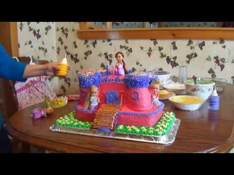 Amazing Castle Birthday Cake