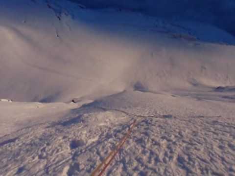 Climbing the Matterhorn North Face