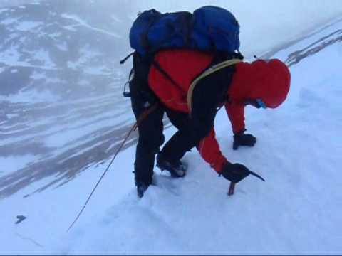 Winter Mountaineering Training