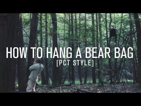 How to Hang a Bear Bag