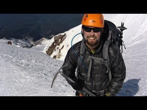 Climbing Mount Hood (South Route) near Portland, Oregon