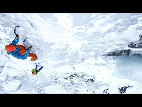 Ice climbing basics - Ice screw placement, anchors and V-threads