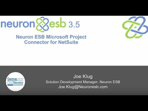The Neuron ESB Microsoft Project Connector for NetSuite