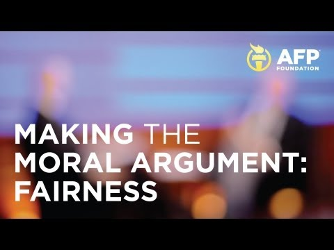 Making the Moral Argument: Fairness