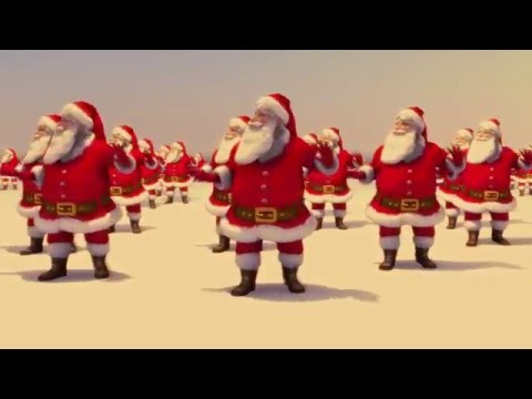 "Santa Claus Dancing ""Jingle Bell Rock"" (Brenda Lee 1958) Topaz 2015"