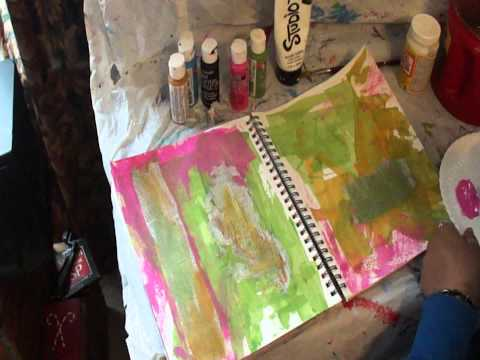 Art Journaling: Jazzy Spring