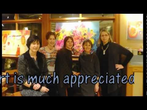 Art Show by 5enses - Delany's West Vancouver - Jan2012 - video by thereselydiajoseph