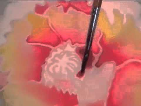 Basic Silk Painting Technique