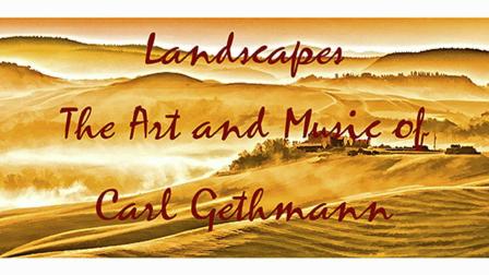 Landscapes by Carl Gethmann