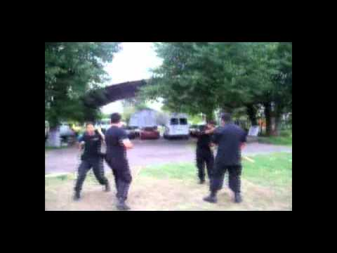 Modern Arnis Kombatan IPMAF Argentina by Warriors in Black Style en Fuerzas Especiales